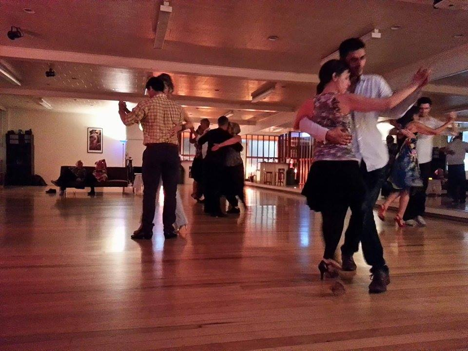 Cecile and Nigel's milonga