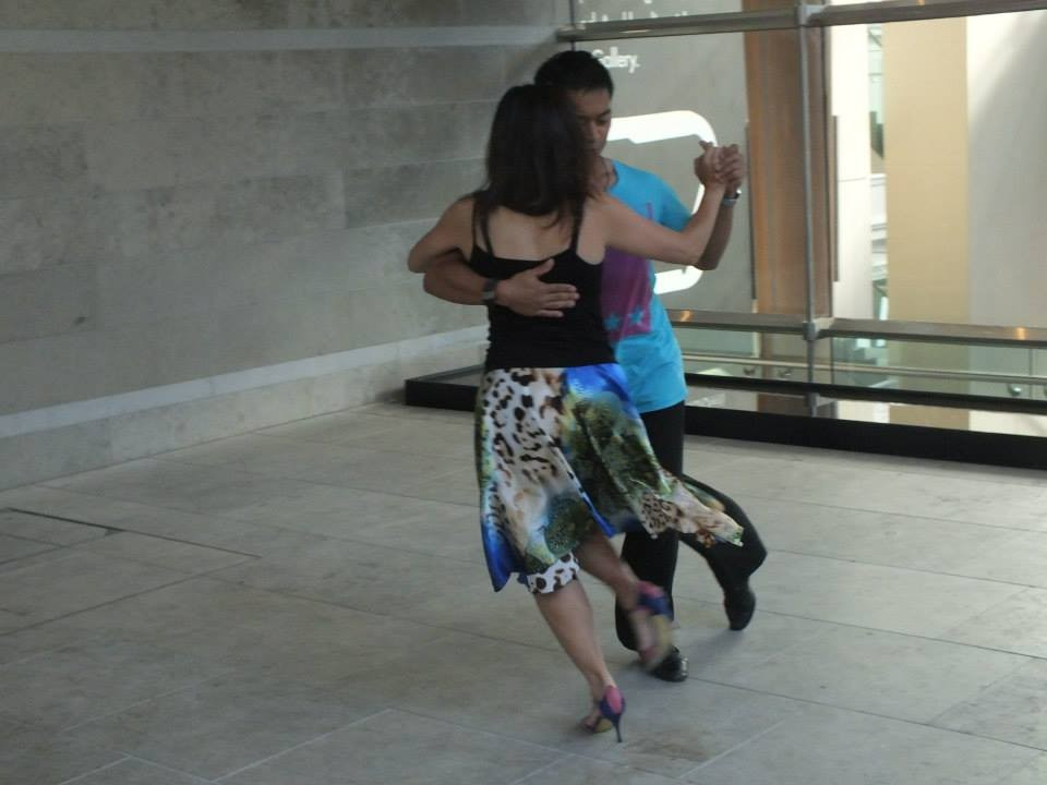 Auckland Tango - Kelly and Sheldon at Auckland Art Gallery Practilonga