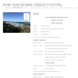 Port Macquarie : portmactangofestival.com