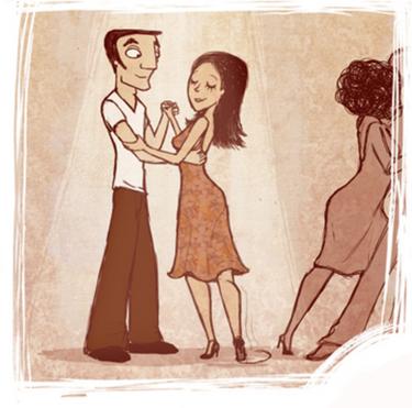 tango etiquette -Boleo graphic from tangodelalma.net/etiquette