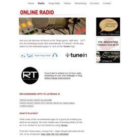 Tango Music : On Line Radio