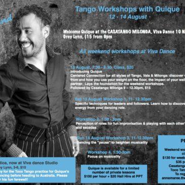 Quique workshops