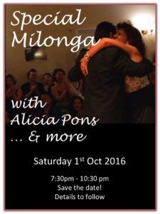 Buenos Aires Milonga with Alicia Pons @ Takapuna Taitamariki Guide Centre | Auckland | Auckland | New Zealand