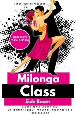 Milonga Class - Horhe Amparado with Denise McCombe @ Sacred Heart Church Hall | Auckland | Auckland | New Zealand