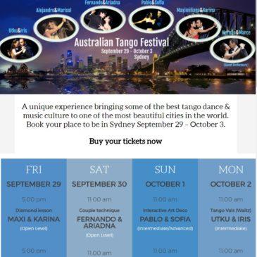 Australian Tango Festival