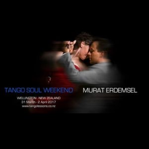 Tango Soul Weekend with Murat Erdemsel @ Dance Studio | Wellington | Wellington | New Zealand