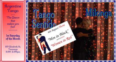Tango Sentido Milonga @ Elizabeth Street Community Centre | Tauranga | Bay Of Plenty | New Zealand