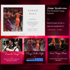 Tango Rendezvous – Auckland – 1 to 3 September