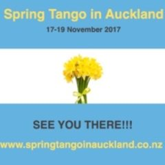 Spring Tango in Auckland
