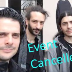 Tangel Trio event cancelled
