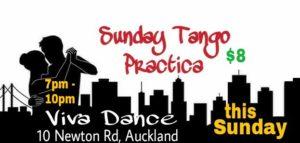 Sunday Tango Practica @ Viva Dance | Auckland | Auckland | New Zealand