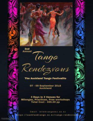 FREE - Argentine Tango Workshops/ Classes - Saturday @ Viva Dance Studio | Auckland | Auckland | New Zealand