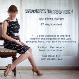 Women's Tango Technique….with Silvina Pugliese