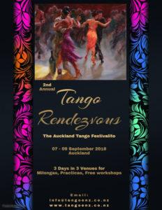 Tango Rendezvous, 07-09 Sep 2018 @ Various locations