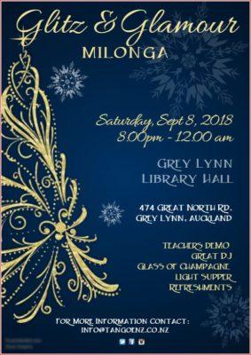 Glitz & Glamour Milonga @ Grey Lynn Library Hall   Auckland   Auckland   New Zealand
