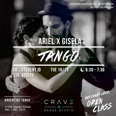 Beginners Class with Ariel & Gisela @ Crave Dance Studio | Auckland | Auckland | New Zealand