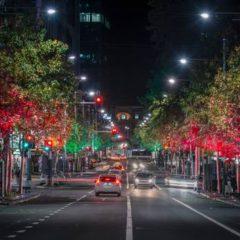 Queen St Christmas Lights