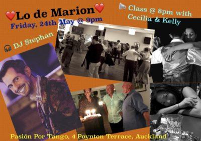 ♥ Lo de Marion ♥ + Pre Milonga Tango Class with Cecilia & Kelly @ Pasion Por Tango | Auckland | Auckland | New Zealand