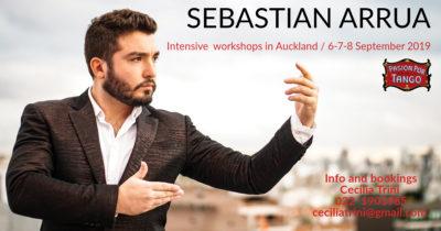 Sebastian Arrua Workshops in Auckland @ Pasion por Tango | Auckland | Auckland | New Zealand