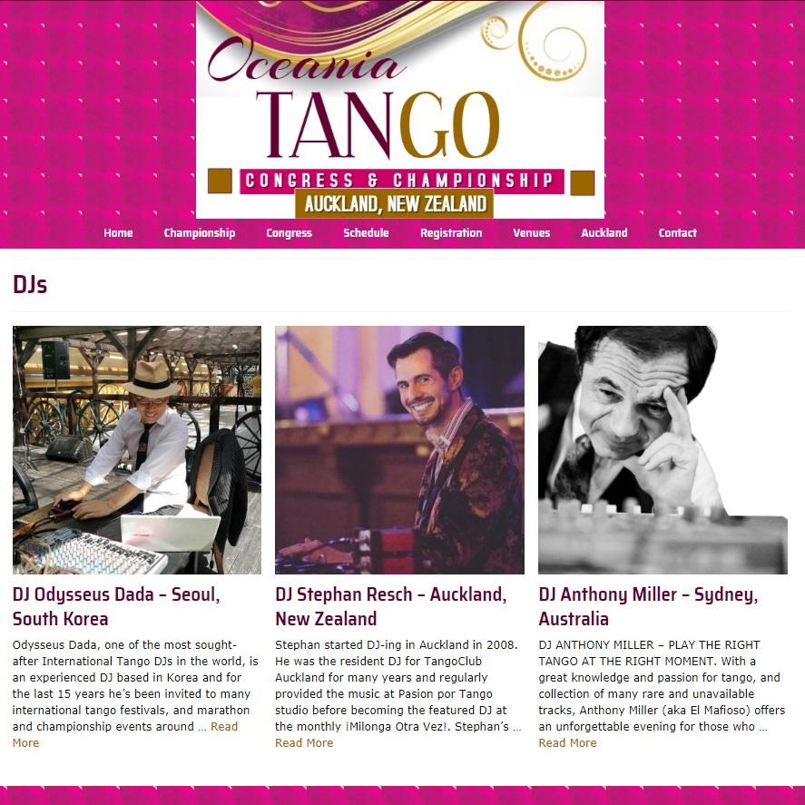 Oceania Tango Djs