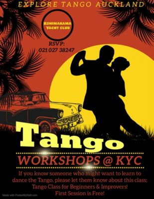 Explore Tango Auckland @ Kohimarama Yacht Club | Auckland | Auckland | New Zealand